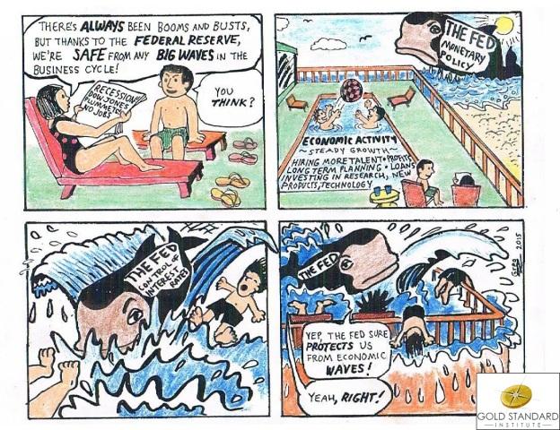 Fed Whale Cartoon